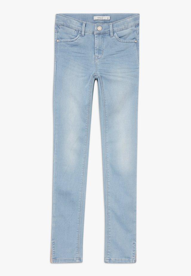 NKFPOLLY 1319 ANCLE PANT - Jeans Skinny - light blue denim