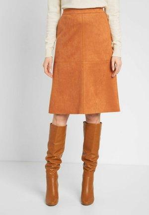 A-line skirt - helles espressobraun