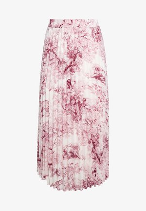 LCHOLLY SKIRT - Maxi sukně - red toile de jouy