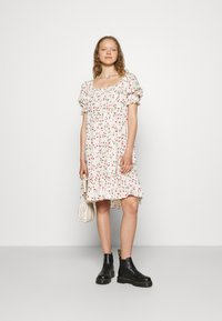 byTiMo - SMOCKING BABYDOLL DRESS - Day dress - strawberries - 1