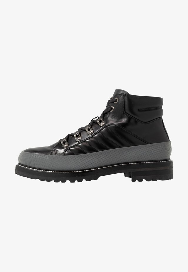 NEW LECH - Veterboots - black/silver