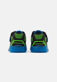 Skechers - MAGNA LIGHTS - Trainers - black/lime/royal - 2