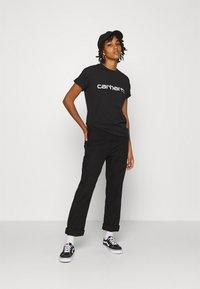 Carhartt WIP - SCRIPT - Camiseta estampada - black/white - 1