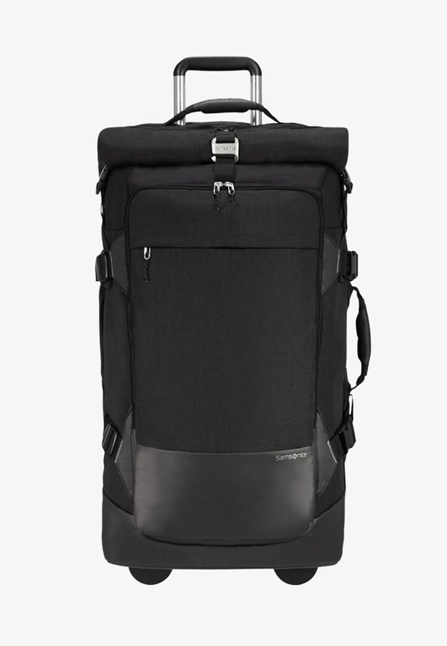 ZIPROLL - Wheeled suitcase - black