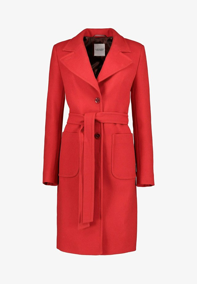 Cappotto classico - rot