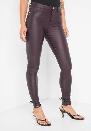 Trousers - burgunder