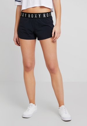 SUNNY TRACKS SHORTS - Bikini bottoms - true black