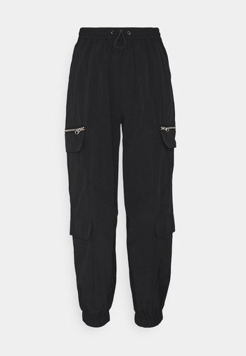 ONLELIZABETH TRACK PANT - Teplákové kalhoty - black