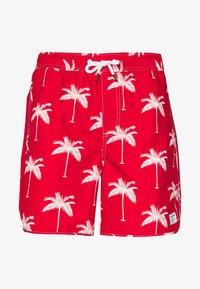 Dedicated - SANDHAMN PALMS - Shortsit - red - 0