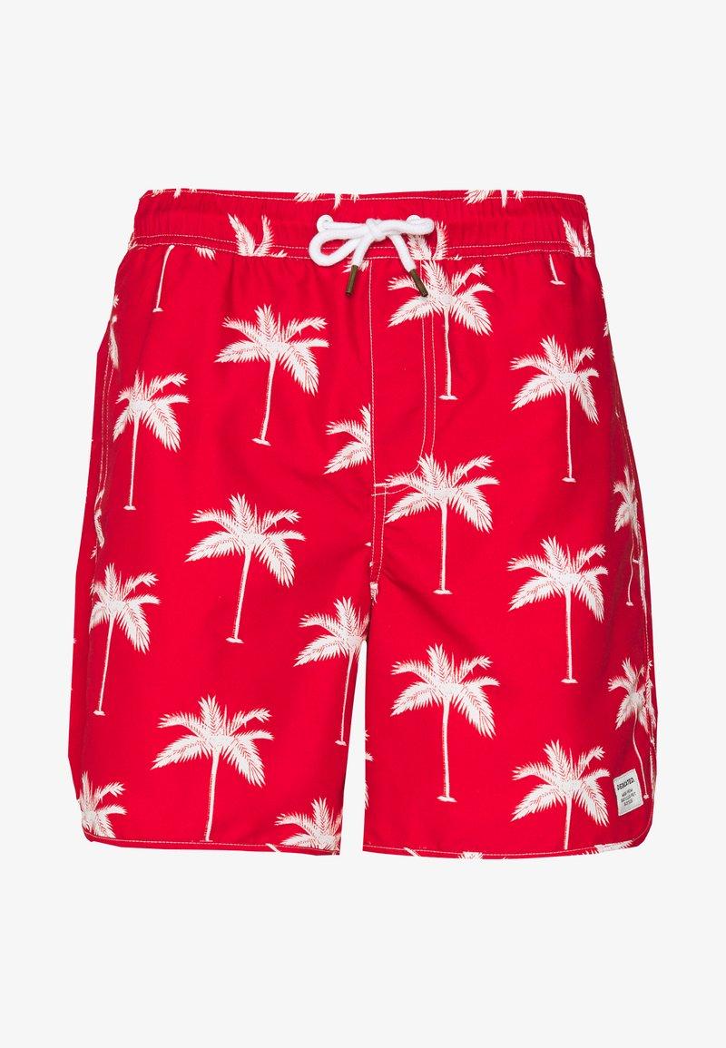Dedicated - SANDHAMN PALMS - Shortsit - red