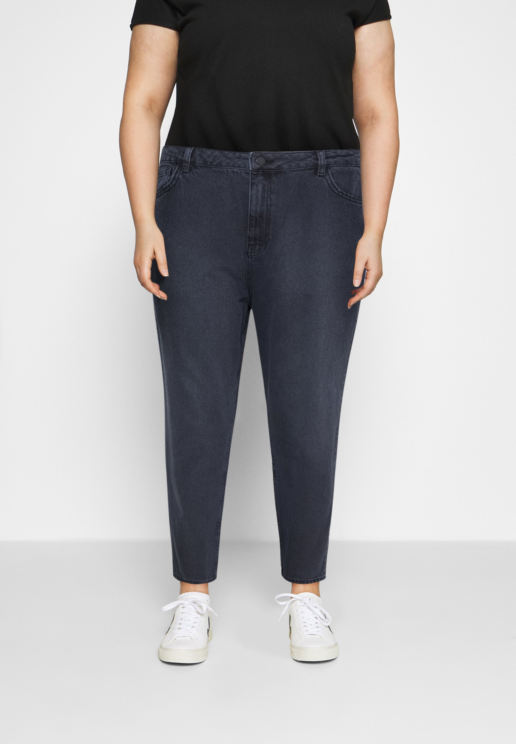 Women HIGH RISE MOM - Relaxed fit jeans