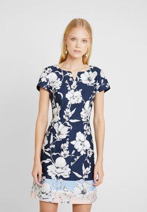 Day dress - blue/rose