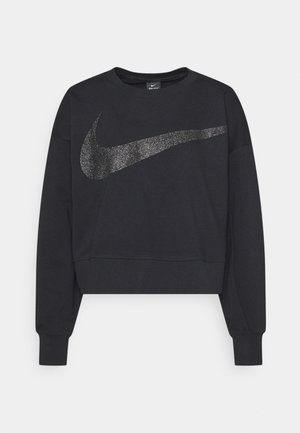 GET FIT - Sweatshirt - black/dark smoke grey