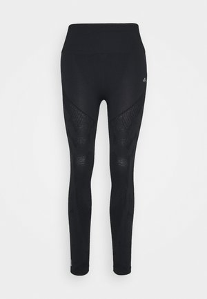 ONPJASE CIRCULAR  - Leggings - black