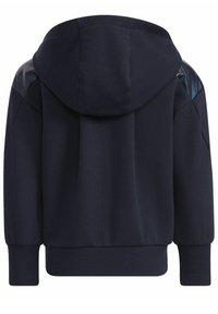 adidas Performance - Zip-up sweatshirt - blue - 6