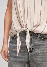 Q/S designed by - Blouse - beige stripes - 5