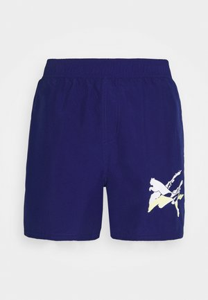 SUMMER SHORTS GRAPHIC - Sports shorts - elektro blue