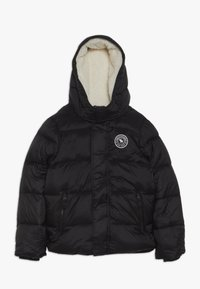Abercrombie & Fitch - ESSENTIAL PUFFER  - Down jacket - black - 0