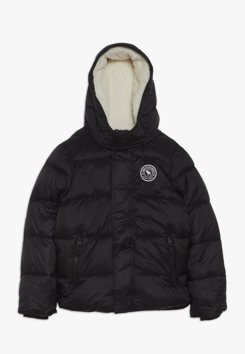 Abercrombie & Fitch - ESSENTIAL PUFFER  - Down jacket - black