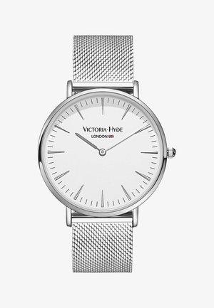 METROPOLITAN MODERN - Horloge - weiss silber