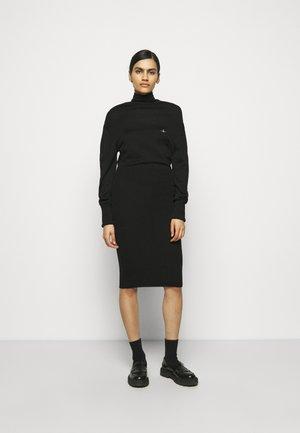 BEA DRESS - Maxi šaty - black