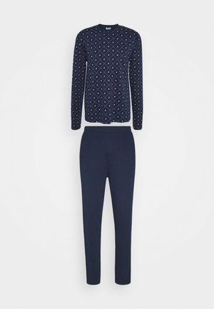 INTERLOCK ROUNDNECK - Pyjamas - navy