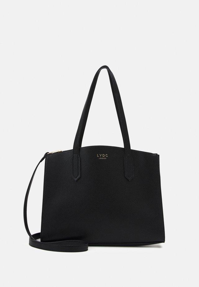 HANDBAG - Käsilaukku - black