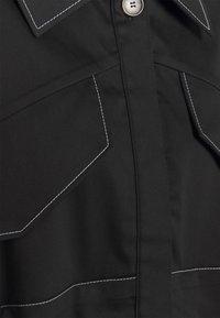 Mykke Hofmann - KRISTI 2-in-1 - Shirt dress - black - 2