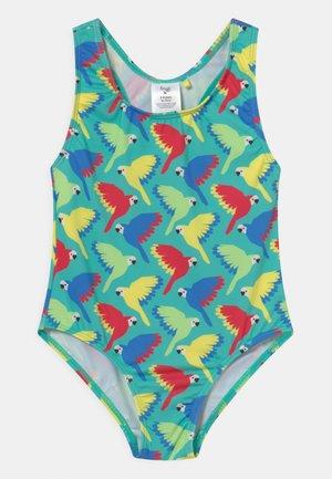 SALLY SWIMSUIT PARROTS - Swimsuit - pacific aqua