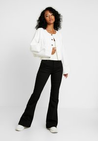 Lee - BREESE - Flared jeans - black rinse - 1