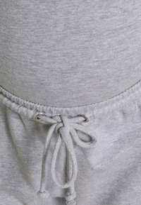 Missguided Maternity - MATERNITY BASIC JOGGER 2 PACK - Tracksuit bottoms - black/grey marl - 5