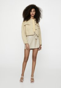 PULL&BEAR - Faux leather jacket - camel - 1