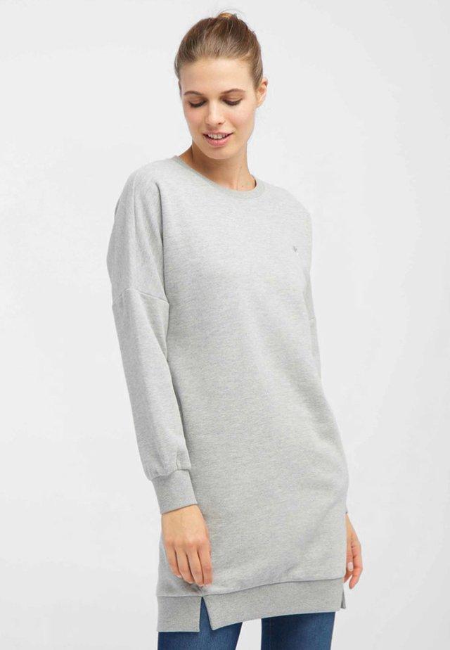 Korte jurk - light grey