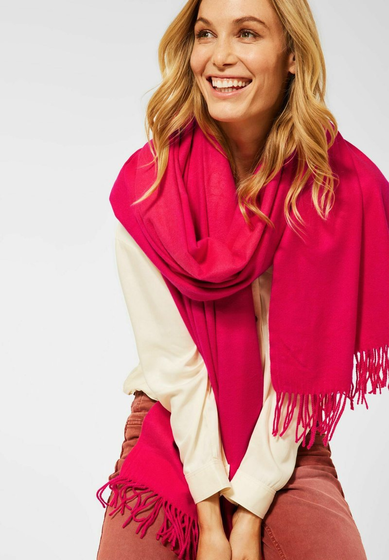 Cecil - SOFTER - Scarf - rot