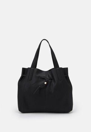 DRAWSTRING TOTE - Tote bag - black