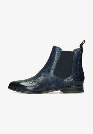 SELINA - Boots à talons - blue