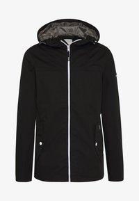 Solid - JACKET HUNT - Summer jacket - black - 4