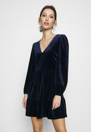 MIDNIGHT SMOCK DRESS - Denní šaty - blue