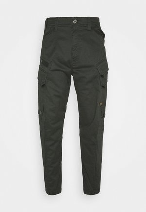 DRONER RELAXED TAPERED CARGO PANT - Cargobroek - stretch asfalt
