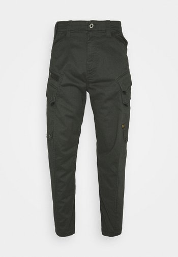 DRONER RELAXED TAPERED CARGO PANT - Cargobyxor - stretch asfalt
