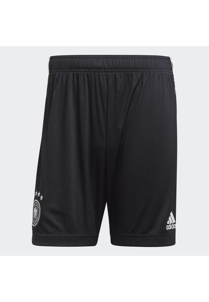 adidas Performance - DEUTSCHLAND DFB HEIMSHORTS - Sports shorts - black/white