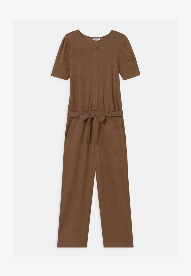 NKFBALINA - Jumpsuit - brown
