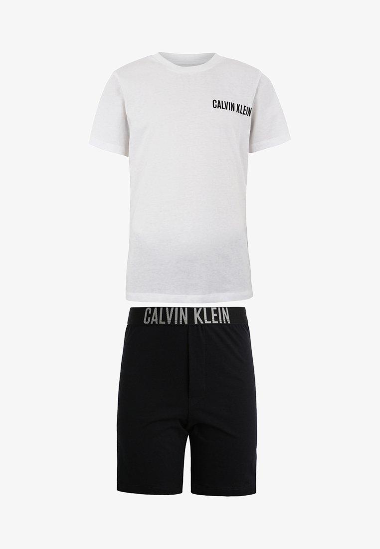 Calvin Klein Underwear - SET - Pyjama set - white/ black