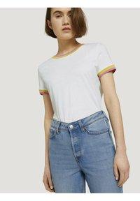 TOM TAILOR DENIM - Straight leg jeans - used mid stone blue denim - 3