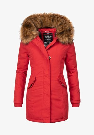 KARMAA - Winter coat - red