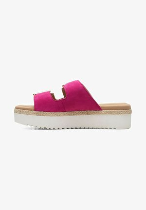 Chaussons - hot pink