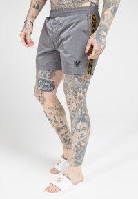 SIKSILK - CRUSHED TAPE - Shorts - grey & gold - 3