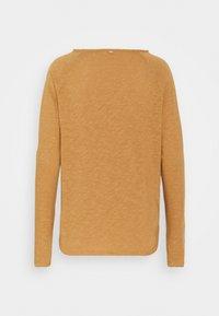 Rich & Royal - HEAVY LONGSLEEVE - Long sleeved top - toffee - 1
