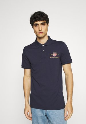 ARCHIVE SHIELD - Polo - evening blue