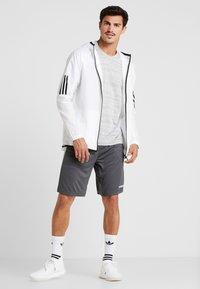 adidas Performance - T-Shirt print - medium grey - 1